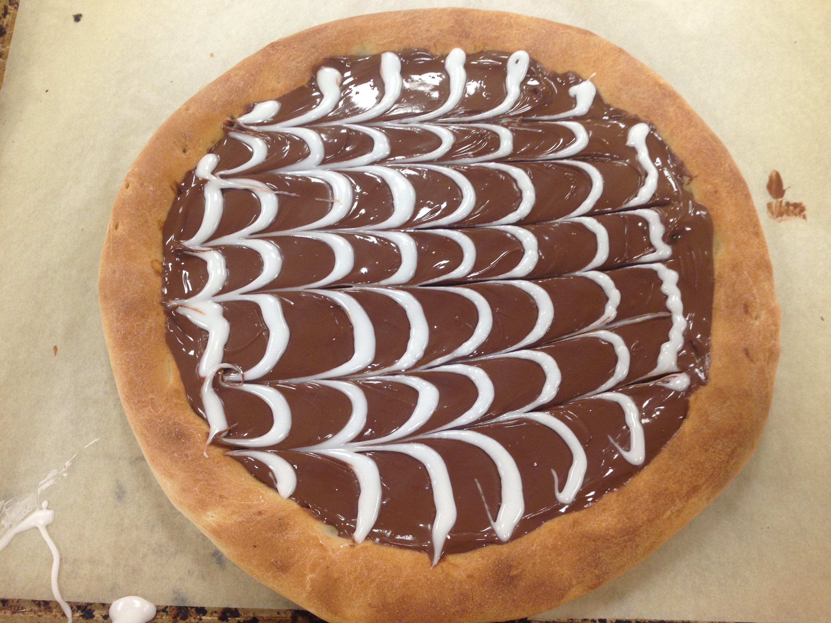 Nutella Pizza Recipe